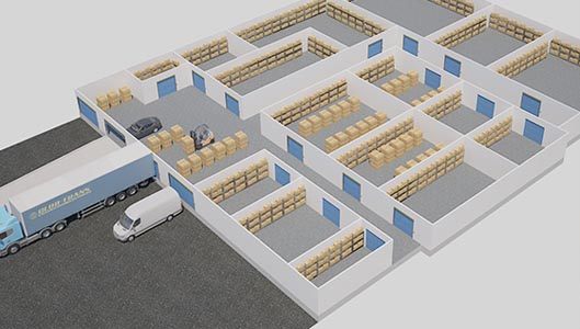 Warehouse Rental Units