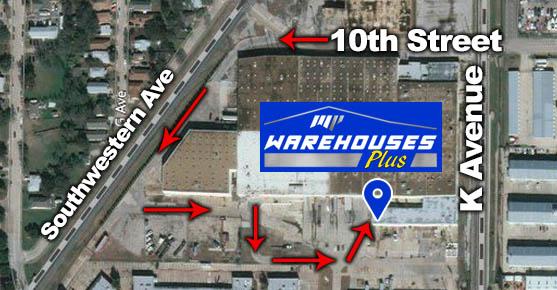 Warehouses Plus Map